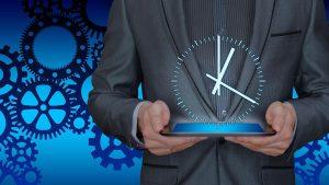 経理業務の効率化をすることのイメージ図